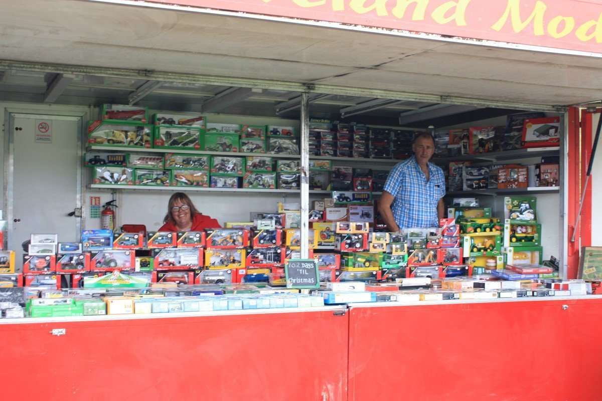 Trade Stand Space Stanhope Show