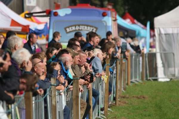 crowd at Stanhope Show