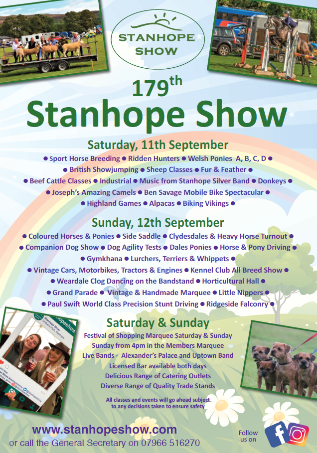 Stanhope Show Poster 2021