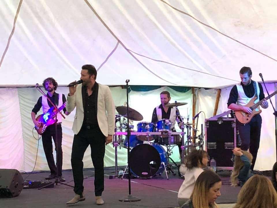 Uptown Band Stanhope Show Rock Night Sunday